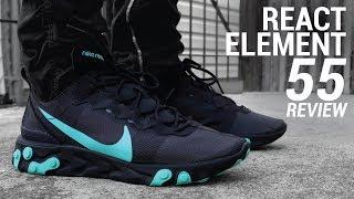 Medicina pase a ver líder  Nike React Element 55 Review - Pros and Cons   For Kicks sake