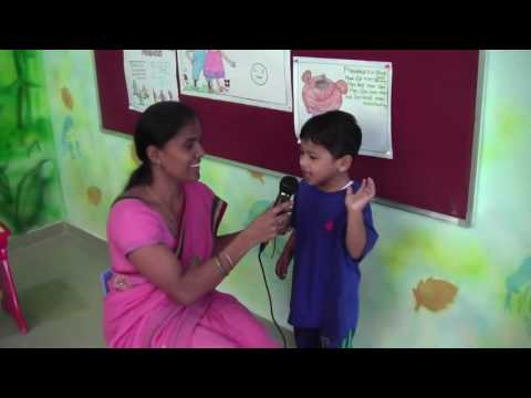 Recitation & oral activities @ Spring valley An APT Pre school, Huda Colony Chandanagar