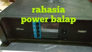 Power spl audio balap 4 ch