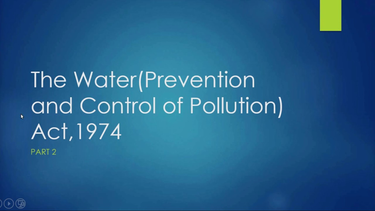 prevention and control of pollution In exercise of the powers conferred by section 53 of air (prevention and control of pollution) act, 1981 (14 of 1981), the central government in consultation with the central board for the prevention and control of water pollution hereby makes the following rules, namely: .
