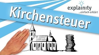 Kirchensteuer einfach erklärt (explainity® Erklärvideo)