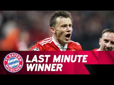 Last Minute Winner by Olic vs. Manchester United | 2009/10 Champions League