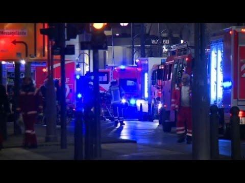 Nine killed as lorry ploughs into Berlin Xmas market