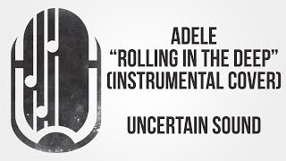 Adele - Rolling in the Deep (Rock Cover, Instrumental / Karaoke)