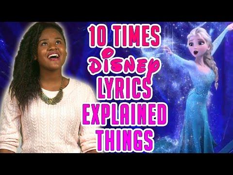 10 Times Disney Lyrics Explained Things!