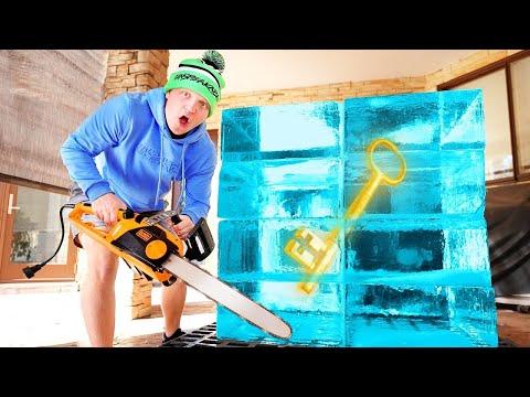 We Found A KEY FROZEN In ICE… - Unspeakable