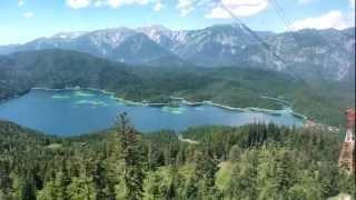 Auffahrt zur Zugspitze / In Real Time to the Zugspitze