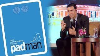 Akshay Kumar SHARES Shocking Incident On The Set Of PADMAN