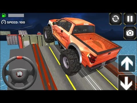 Monster Truck Driving Simulator || Android IOS Gameplay