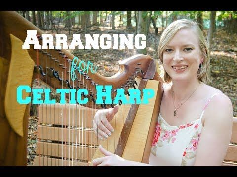 5 MORE tips for arranging harp music // Arrange with me!
