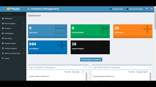 Inventory Stock Management System