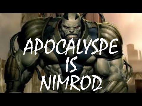 X-Men Apocalypse is Nimrod