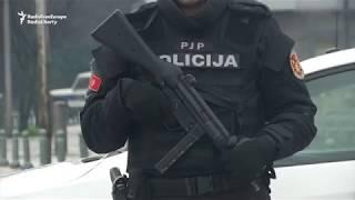Police Investigate Scene of Explosives Attack on US Embassy in Montenegro