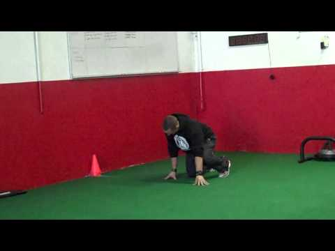 Simple Tip For Faster Sprint Starts (40 Yard Dash)