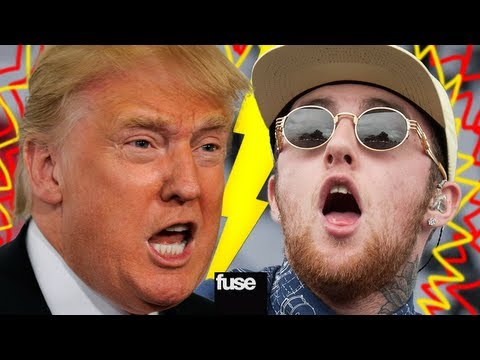 Hip Hop Beef: Mac Miller vs. Donald Trump
