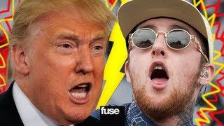 Hip Hop Beef: Mac Miller vs. Donald Trump