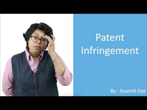 Lecture on Infringement of Patent