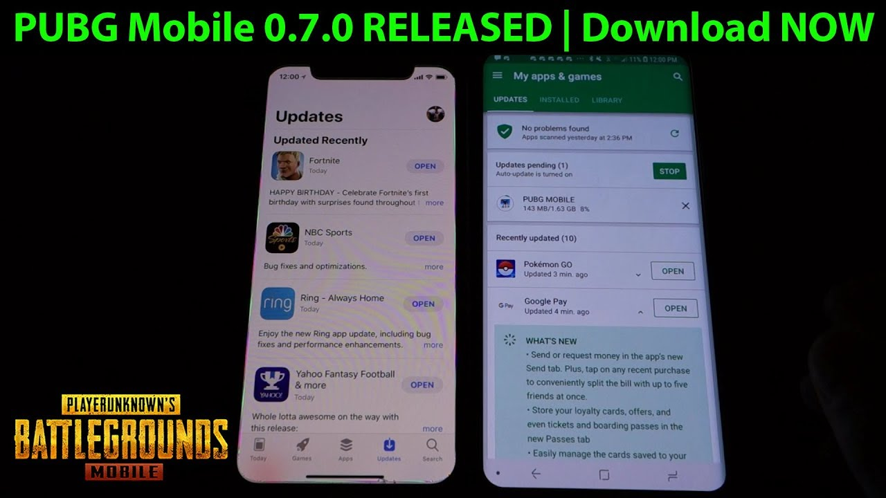 Download Pubg Mobile For Iphone Ipad Android Released: PUBG Mobile 0.7.0 RELEASED On Android & Apple IOS