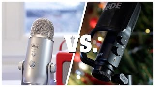 RØDE NT-USB vs. Blue Yeti | Epic Youtube Mic Battle 2015