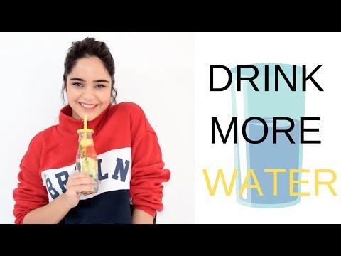10 Ways To Increase Water Intake!