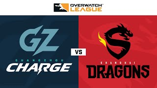 Guangzhou Charge vs Shanghai Dragons   Week 8 Day 1   Part 1