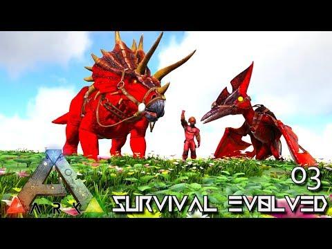 ARK: SURVIVAL EVOLVED - FIRST ALPHA DINO TAME E03 !!! ( PRIMAL FEAR PYRIA )