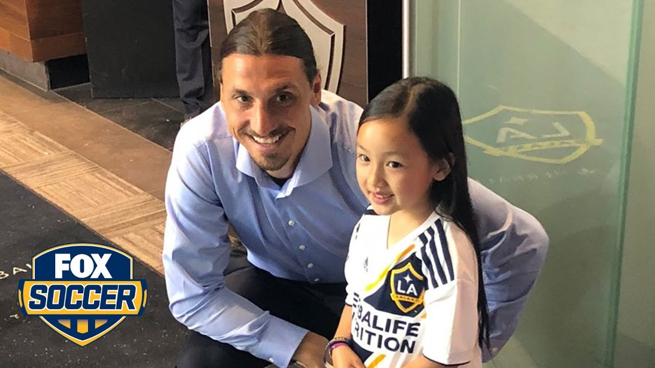 Seven-year-old's national anthem steals show, impresses Zlatan Ibrahimovic | FOX SOCCER