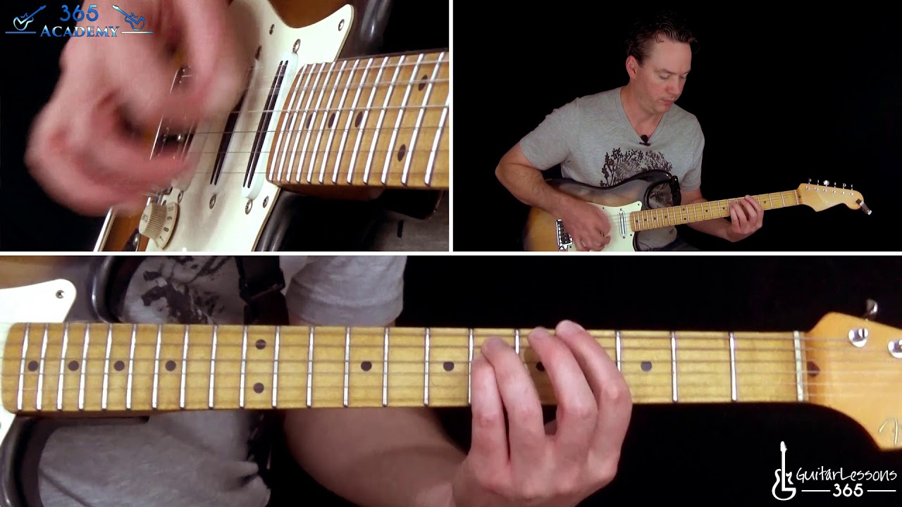 Holiday Guitar Lesson Green Day Youtube