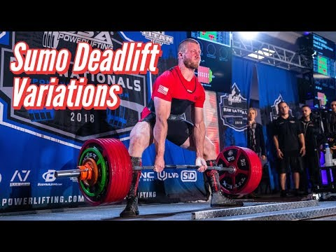 Sumo Deadlift Variations