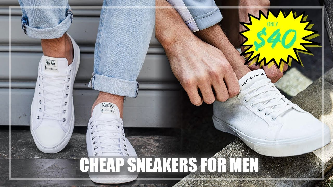cheap new sneakers