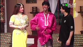 Tariq Teddy and Hassan Murad Pakistani Stage Drama Full Comedy Clip