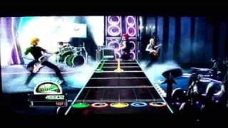 "Guitar Hero: World Tour ""Electro Rock- Sworn"""