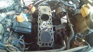 Ford sierra 2.0. Almashtirish silindir rahbari