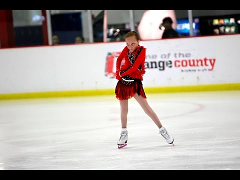 Shayna Chapman Figure Skating to PICANTE PARTY