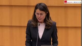 Intervento in Plenaria della parlamentare europea Simona Bonafe' sul certificato verde digitale.