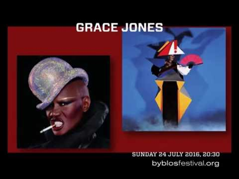GRACE JONES BYBLOS INTERNATIONAL FESTIVEL LEBANON 24 JULY 2016 .THE  EVENT OF THE SUMMER