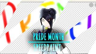 Pride Month speedpaint! +extra