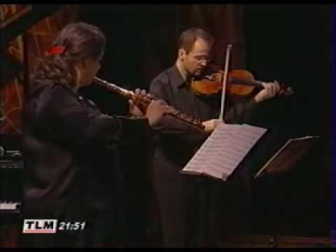 Bach The Musical Offering Trio sonata (4) Radivo, Reville, Robilliard.