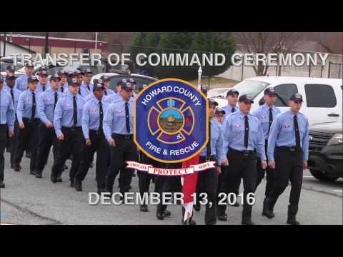 Transfer of Command: Education and Training Bureau