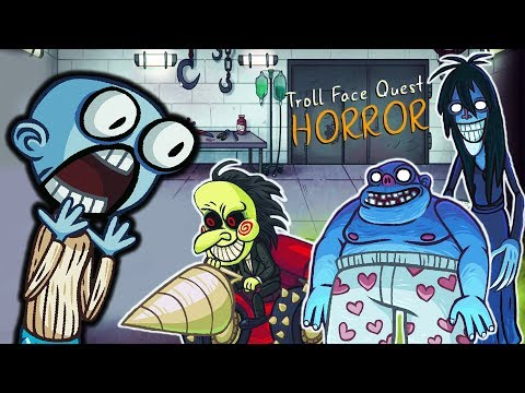 ЗАТРОЛИЛ ВСЕ ХОРРОРЫ! Веселая игра Troll Face Quest Horror от Cool GAMES