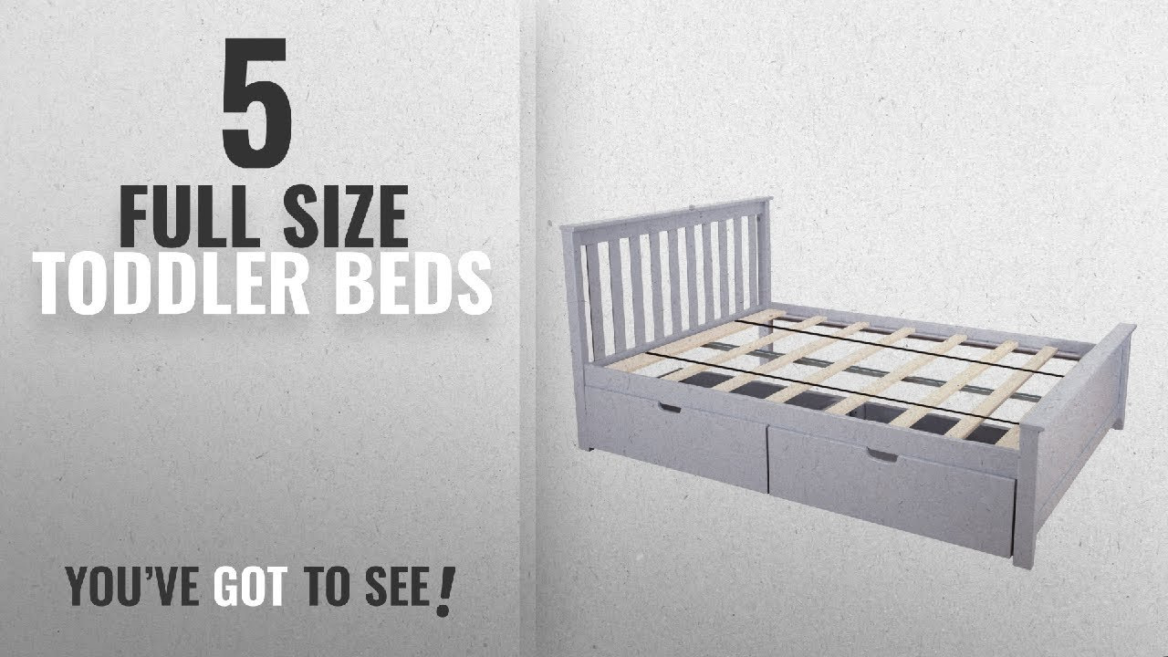 Top 10 Full Size Toddler Beds 2018
