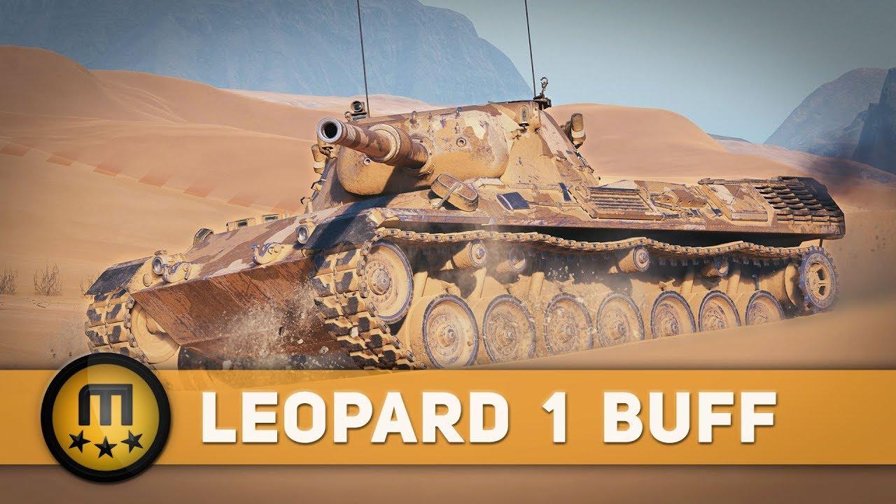 Wot Leopard 1 Buff
