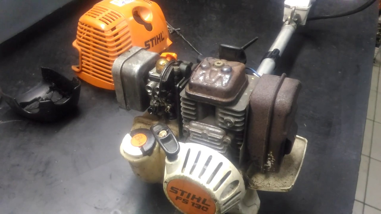 Stihl FS 90R Trimmer Maintenance - YouTube