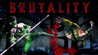 MK Mobile. Performing Jade Brutality on Fatal Shirai Ryu Tower Boss Scorpion! This Was EPIC!