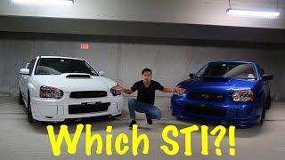 2004 STI vs 2005 STI - Which one is better ?