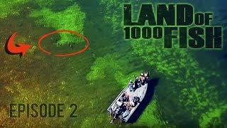 1,023 INSANE Fish Challenge!! - LAND of 1000 FISH - Ep. 2