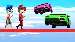 NADIE PUEDE TIRAR A INVICTOR 😂 AUTOS vs CORREDORES en GTA 5 😱 RAGDOLL GTA V