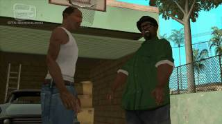 GTA San Andreas - Walkthrough - Mission #15 - Wrong Side of the Tracks (HD)