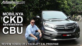 Review Honda CR-V Facelift 2.4 L Prestige Indonesia by AutonetMagz