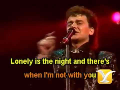 Air Supply   Lonely is the night   Karaoke